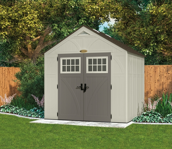 Apex Tremont Garden Shed - 8ft x 7ft