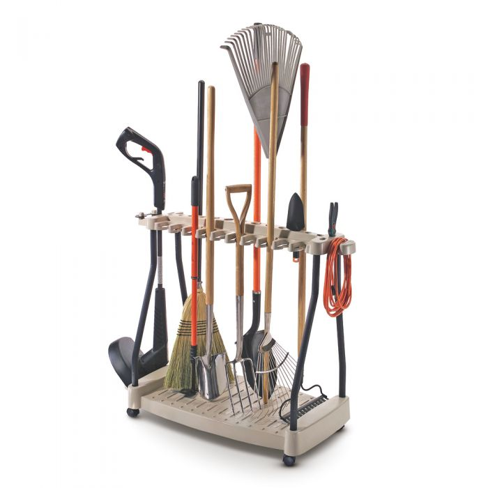 Tool Rack with Wheels W107cm