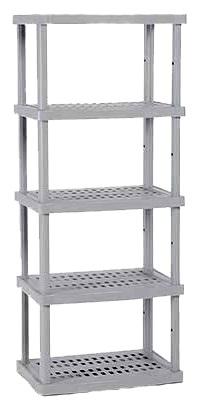 5 Shelf Storage Unit W76cm