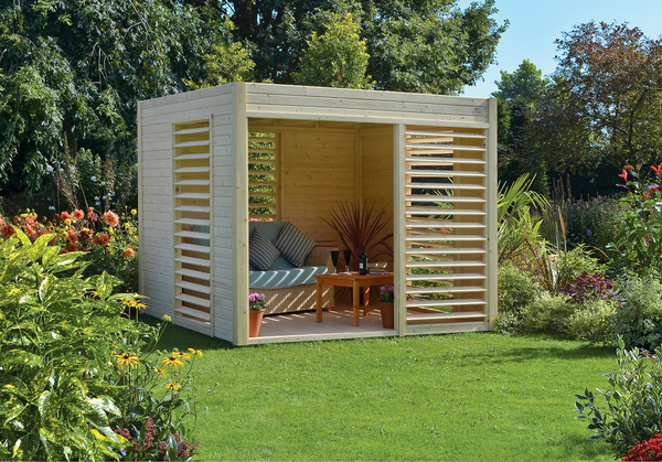 H2.2m (7ft 3in) Carmen FSC® Wooden Pavilion by Rowlinson®