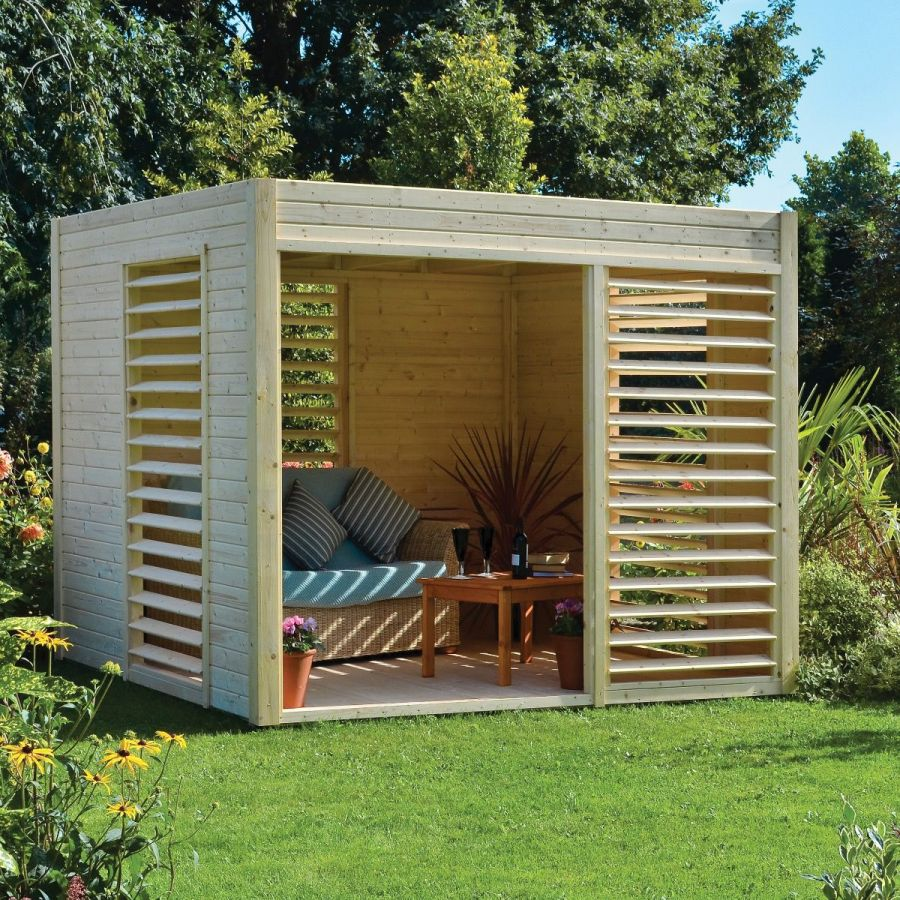 7ft Carmen FSC® Wooden Pavilion by Rowlinson®