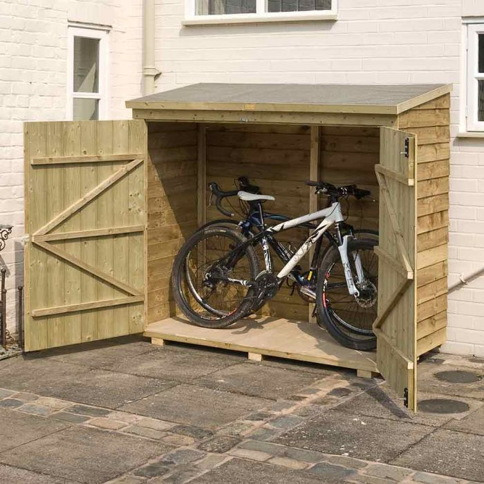 6ft x 5ft Overlap Wooden Wallstore by Rowlinson®