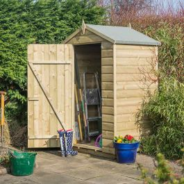 4ft x 3ft Oxford Shed by Rowlinson®