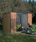 10X6 Woodvale Metal Apex Shed