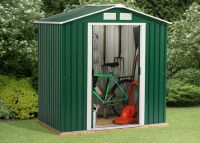 Parkdale 6ft x 6ft Galvanised Steel Shed