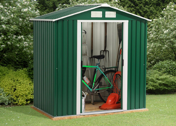 Parkdale 6ft x 8ft Galvanised Steel Shed