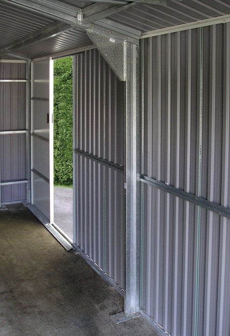 Olympian 12ft x 20ft Galvanised Steel Garage