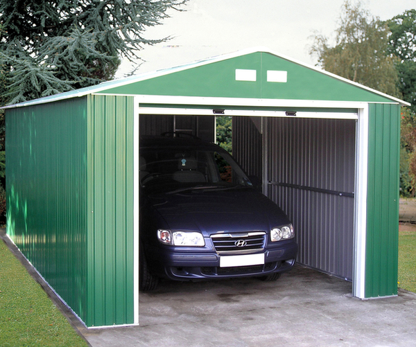 Olympian 12ft x 26ft Galvanised Steel Garage