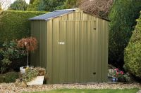 Easy Kit 4ft x 6ft Galvanised Steel Shed