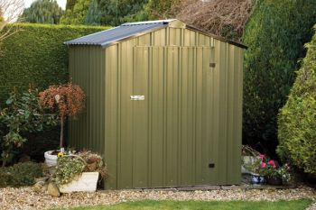 Easy Kit 4ft x 8ft Galvanised Steel Shed