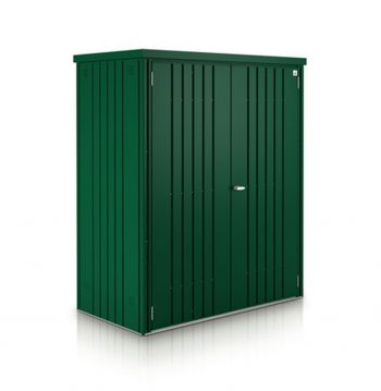 Biohort Dark Green Heavy Duty Galvanised Steel Equipment Locker