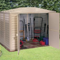 Duramate 8ft x 10ft Vinyl Storage Shed