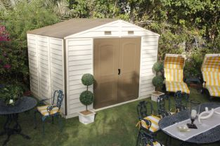 Woodside 10ft x 8ft Vinyl Storage Shed