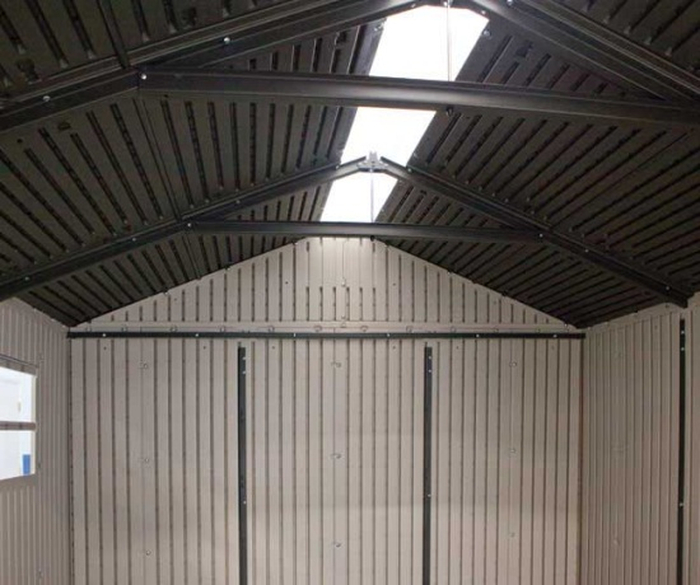 Lifetime 7ft x 7ft Plastic Shed