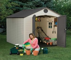 Lifetime 8ft x 10ft Plastic Shed