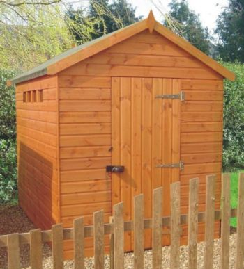Security Apex Shed 8 x 6