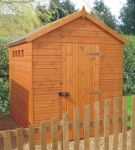 Security Apex Shed 8 x 8