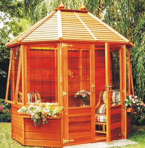 Alconbury Summerhouse Leaded 6 x 6