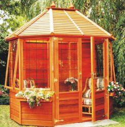 Alconbury Summerhouse Leaded 6 x 8