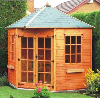 York Corner Summerhouse 10 x 10