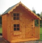 Deluxe Playhouse 8 x 8