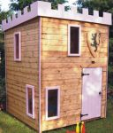 Castle Tower Playhouse 6 x 6