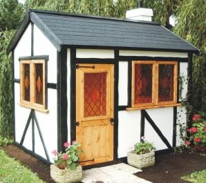 Tudor Lodge Playhouse 6 x 8