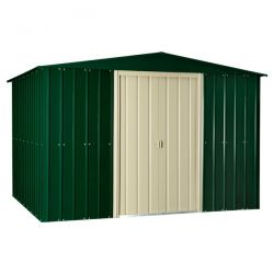 Lotus Metal Shed 10 x 6ft - Heritage Green