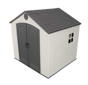 Lifetime 8x7.5ft Special Edition Plastic Shed