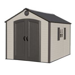 Lifetime 8x10ft Special Edition Plastic Shed