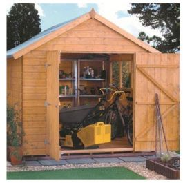 7ft x 5ft Premier Shiplap Apex Shed by Rowlinson®