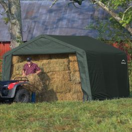 12ft x 12ft Bike Shelter by Rowlinson®