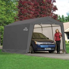 20ft x 10ft Peak Style Car Port by Rowlinson®