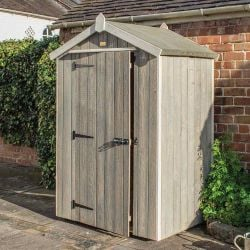 4ft x 3ft Heritage Apex Wooden Shed by Rowlinson®