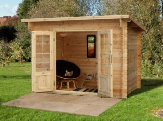 Harwood Log Cabin 3.0m x 2.0m (7.2 x 6.6ft)