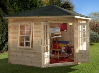 Wenlock Log Cabin 3.0m x 3.0m (9.8 x 9.8ft)