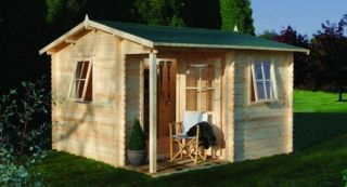 Malvern Log Cabin 3.6m x 3.6m (11.8 x 11.8ft)