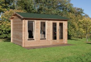 Chiltern Log Cabin 4.0m x 3.0m (13.12 x 9.8ft)