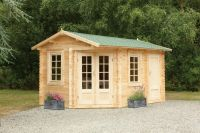 Ripon Log Cabin 4.0m x 2.8m (13.12 x 9.2ft)