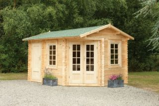 Pickering Log Cabin 4.0m x 2.8m (13.12 x 9.2ft)