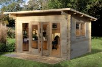 Melbury Log Cabin 4.0m x 3.0m (13.12 x 9.8ft)