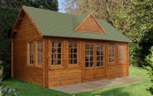 Cheviot Log Cabin 5.5 x 4.0m (18 x 13.12ft)