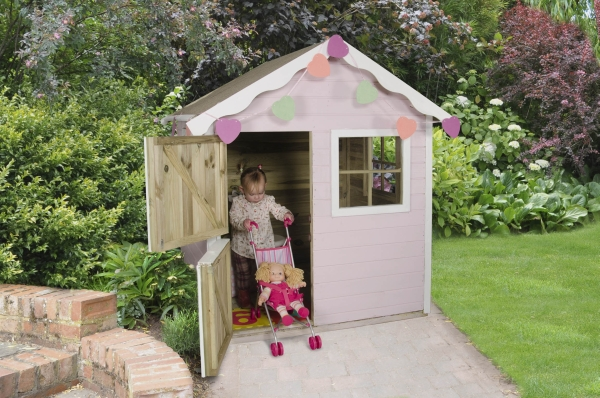 Sage Timber Playhouse 157cm x 147cm