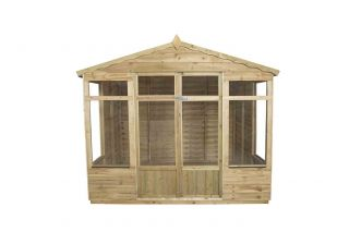 Oakley Summerhouse - Overlap 8x6ft