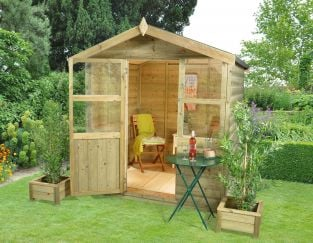 Charlbury Summerhouse - 6x6ft Shiplap Apex