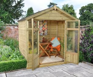 Bloxham Summerhouse - 7x5ft Shiplap Apex