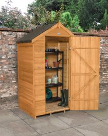 Apex Overlap Shed without Window - Dip Treated - 7 x 4ft
