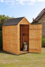 Apex Overlap Dipped No Window Shed - 7 x 3ft