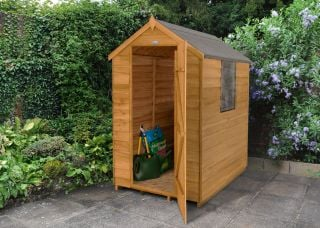 Overlap Dip Treated Apex Shed - 4 x 6ft