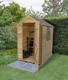 Apex Overlap Pressure Treated Shed - 6 x 4ft